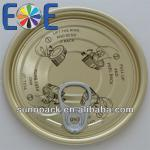 composite can lid 209 (63mm) easy open ends plant
