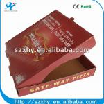 green ecofriendly and safe paper pizza box wholesale