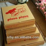New safety high quality sweetheart folding pizza paper box