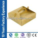 Kraft Paper food take out boxes