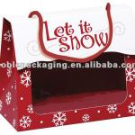 LET IT SNOW Gourmet Window Totes Christmas