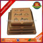 custom corrugated pizza box kraft box paper box