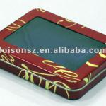 Pizza package metal box