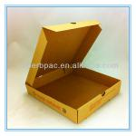 9 inch brown kraft paper corrugated pizza packing box wholesale