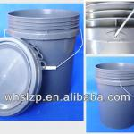 gray acid resistance bucket for paint