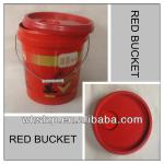 4 gallon bucket red