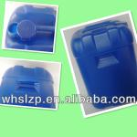 quadrate blue Blowing buckets for industrial 50 L in Plastic