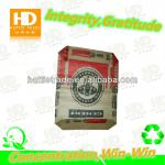 double folded kraft paper cement packing bags