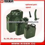 5liter/10liter/20liter metal jerry can, fuel tank, gasoline diesel jerry can can