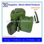 5L 10L 20L portable steel gas can