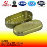 Caliper packaging box with gold inside