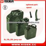 5L/10L/20L water jerry cans,jerry can spouts,yellow jerry cans