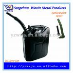 20 L LITER METAL JERRY CAN FOR PETROL DIESEL FUEL WITH SPOUT