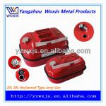 20L portable fuel tank red for petrol