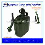 Army Green 5 liter METAl JERRY CAN