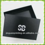 Wholesale custom black gift box with lid