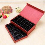 Double layers DIY Chocolate box with Plastic Insert