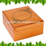 Lasered-logo Wooden Gift Box