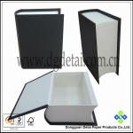 Book-shaped Paper chocolate box with open lid