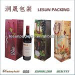 Promotion one bottle paper wine gift bag