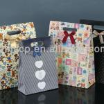 OEM customized Christmas gift paper bag