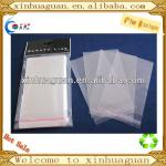 2013 Factory sale Transparent plastic self-adhesive OPP bag and self seal opp bag
