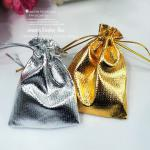 Silver bag/ Gold pouch/ Silver Gift Bag