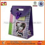 Purple wedding gift bags,high quality gift bags wholesale
