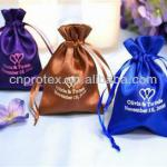 Various Custom Printed Satin Jewelry Pouches