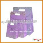 Cheap wholesale purple tote gift bags