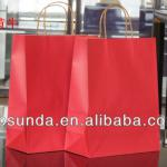 Print with your logo craft paper bag Paper bags wholesale