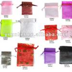 Mixed Color Sheer Organza Bag For Gift Packing,Gift Bag,Jewelry Bag