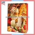 Paper Gift Bag/Christmas Gift Bag with Santa