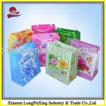 2013 deluxe brand laminated gift paper bag pvc