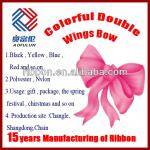 Colorful Pre-Made Double Wings Ribbon Bows
