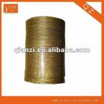 2013 gold and silver fabric metallic ribbon