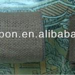 100% Natural Jute Burlap Ribbon wire edge