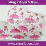 Printed Grosgrain Ribbon Fancy and Sweet Girl