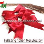 china wholesale red satin ribbon bow tie in gift packaging