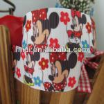 Wholesale 100%polyester cute cartoon printed grosgrain ribbon