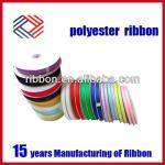 100% Polyester Satin Ribbon for garment