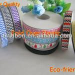 chevron elastic yard ribbon FOE 5/8""