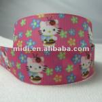 Cheap cute KT cat cartoon Printed Ribbons