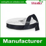 5/8 inch black China wholesale high quality double face box wrap decorative polyester satin ribbon
