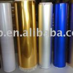 glossy metallized wrapping paper roll