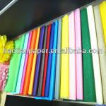 various color tissue paper