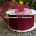 sparkle organza ribbon for decoration