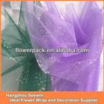 Snow Organza Fabric Roll For Party Decoration And Wrapping