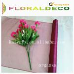 Flower Wrapping Organza Roll
