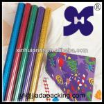 colored gift wrapping paper